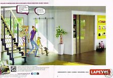 Publicité advertising 2012 (2 pages) Menuiserie Lapeyre par Carlotta
