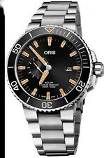 Oris AQUIS DATE 500 meters MENS  46mm DIVERS WATCH Sub Seconds  SELLING in AUST