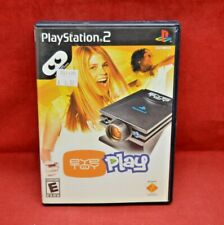 Play Station 2 PS2 EyeToy Play Sony Rated E Game & Original Case #4571