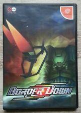 Border Down boitier format DVD Dreamcast version JPN état neuf