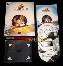 FINAL FANTASY VIII 8 Pc Versione Italiana Big Box ••••• COMPLETO