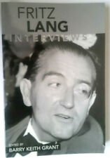 Fritz Lang Interviews, Edited by Barry Keith Grant (Paperback, 2003)