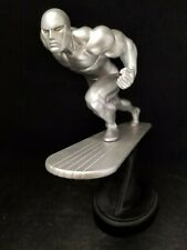 Rara estatua MARVEL Bowen Diseño Silver Surfer Vers Cromo Poli Personalizado 2524/3500
