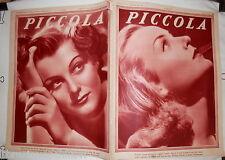 PICCOLA 12 Maggio 1936 Carole Lombard Ann Shirley Joe Parker e Sally Winkler di