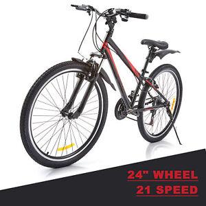 """24""""/ 26"""" Men Women Road Mountain Bike MTB Frame Bicycle  21 Speed"""