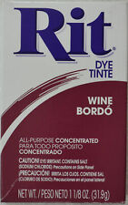 Rit Fabric Dye Powder - Wine (83100)