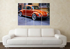 Large Volkswagen Beetle (5) Bug Camper R32 VR6 G60 Wall Poster Art Picture Print