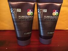 SET OF 2 PUREOLOGY COLOUR FANATIC INSTANT DEEP CONDITIONING MASKS 1 OZ