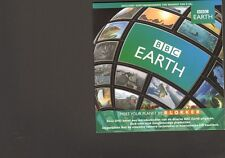 BBC EARTH Meet Your Planet NEW SEALED PROMO Introductie Film