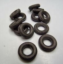 12-1 Corgi 12mm Black Round Tread Tres fit Mini/'s Etc