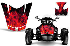 Can Am BRP RS Spyder Roadster Hood & Fender Graphic Kit Decal Sticker Wrap ICE R