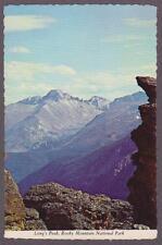 UNUSED Long's Peak from Trail Ridge Rd , Rocky Mt Park Postcard - I Combine S/H