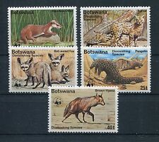 Botswana 182/86 postfrisch / WWF ..........................................1/673
