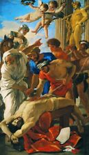 """oil painting handpainted on canvas """" The Martyrdom of St Erasmus""""13838"""