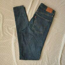 Levis Womens Jeans W30 L32 Blue Mile High Super Skinny