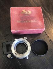 Rare Ernst Leitz Wetzlar 5cm Leica Camera Accessory Naheinstellgerät Orig Box