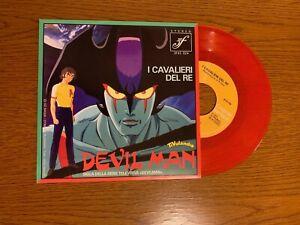 Devil Man - I Cavalieri del Re - vinile 45 giri colore ROSSO, RARO!!