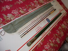 HIGH END Vintage MONTAGUE FISHKILL Bamboo Fly Rod & Tube