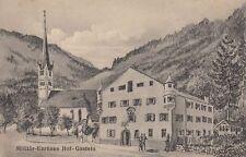 70895- Hofgastein Salzburg Bezirk St. Johann im Pongau Militär Kurhaus 1918