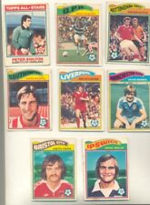 8 TOPPS 1978 FOOTBALL ORANGE BACK CHEWING GUM CARDS