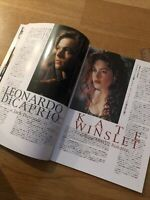 TITANIC Japanese RARE Film Souvenir PROGRAMME Leonardo DICAPRIO Kate WINSLET '97