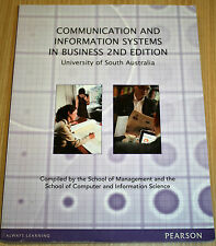 Communication & Information Systems In Business 2nd Edition - Pearson