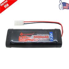 1x 7.2V 5000mAh Ni-MH RC Rechargeable Battery Tamiya Plug For RC Racing Car USA