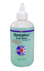 Vetoquinol Dentahex Oral Rinse for Dogs and Cats 8 oz.