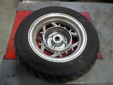 yamaha riva 125 XC125 rear back rim wheel tire 94 1995 1996 1997 1998 1999 2000