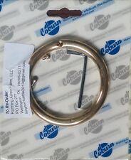 "1 Heavy Duty Medium Copper & Bronze Bull Nose Ring 3"" x 3/8"""