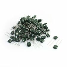 CPK-60 ASSORTED APPROX 5 TYPES DIP MYLAR CAPACITORS 12 COMPARTMENT PLASTIC BOX