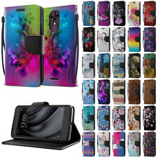 "For Coolpad T-Mobile Revvl Plus 6.0"" 3701A Flip PU Leather Wallet Case Cover"