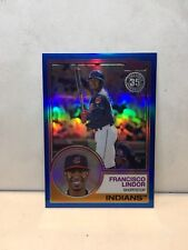 FRANCISCO LINDOR Indians 2018 Topps '83 SILVER PACK CHROME BLUE REFR NrMt-Mt  #/