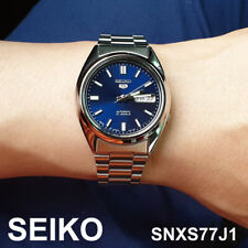SEIKO 5 SNXS77J1 Automatic Men's Watch Stainless Steel 37mm MADE IN JAPAN