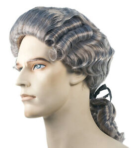 COLONIAL MAN WIG COSTUME ACCESSORY