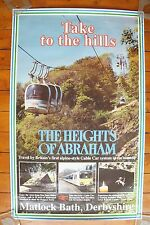 Abraham Cable Car Matlock Bath BR Original Railway Poster