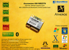 Half size mini PCIe Card 802.11n WLAN WiFi Bluetooth Combo Atheros Hackintosh