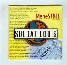 PROMO CD SINGLE (NEUF)SOLDAT LOUIS MENESTREL/HOMERE M'A TUE