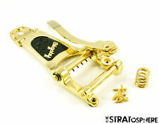 NEW LEFTY Bigsby USA B7 Vibrato Tailpiece Gold Arch Top Guitar American B7GLH