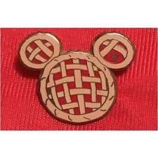Disney Fun Food Apple Pie Hidden Mickey Mouse Pin