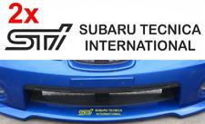 2 x   sti   subaru tecnica international     sticker decal graphic