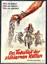 Das Todeslied der stählernen Ketten Bullfighters Original A1 Filmposter (M-6425+