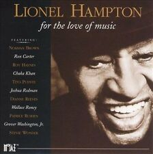 For the Love of Music by Lionel Hampton (CD, Jul-1995, Motown) Free Ship #JD79