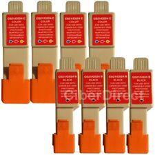 8 compatible CANON BCI-21 BK/C printer ink cartridges