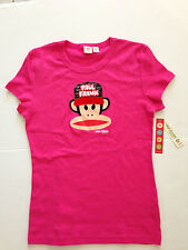 Paul Frank Pink Short Sleeve Cotton Tee Shirt Top - Size L - Brand new with tag