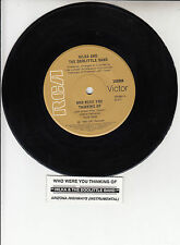 """HILKA AND THE DOOLITTLE BAND Who Were You Thinking Of  7"""" 45 rpm vinyl record"""