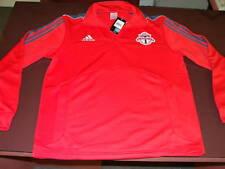 Toronto FC TFC Soccer MLS Adidas Jacket XL Half Zip