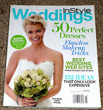 IN STYLE WEDDINGS Magazine Winter 2010 JAIME PRESSLY Cover NO LABEL