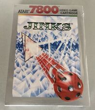 VINTAGE# JINKS# ATARI 7800#MOD CX7857NIB Pal Version SEALED