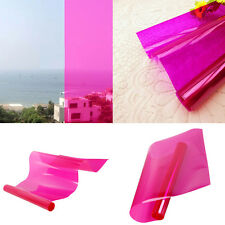 Beautiful Pink Window Film Explosion-proof Non Reflective Tint Home Decor Pink